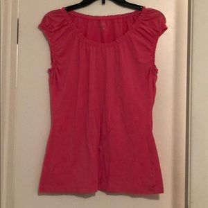 Anne Taylor Loft pink tank top in size Large